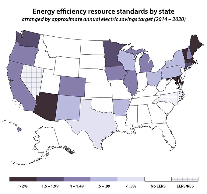 Energy Efficiency Resource Standard (EERS) | ACEEE