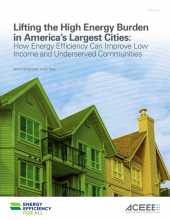 Lifting the High Energy Burden in America's Largest Cities: How Energy Efficiency Can Improve Low-Income and Underserved Communities