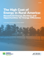 The High Cost of Energy in Rural America: Household Energy Burdens and Opportunities for Energy Efficiency